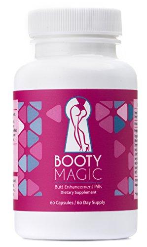 Booty Magic Ultra Butt Enhancement Pills - 2 Month Supply