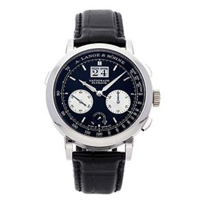 A. Lange & Sohne Datograph Mechanical (Hand-Winding) Black Dial Mens Watch 405.035 (Certified Pre-Owned)