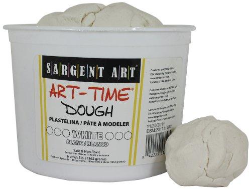 Sargent Art 85-3396 3-Pound Art-Time Dough, White