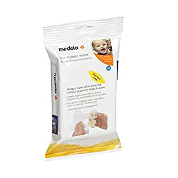 Perfect for the busy parent looking for multipurpose wipes to keep their breast pump equipment clean, the Medela Quick Clean Breast Pump and Accessory Wipes are efficient, practical, and diverse. These wipes are a convenient cleaning solution that do...