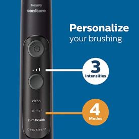 Philips-Sonicare-HX969005-ExpertClean-7500-Bluetooth-Rechargeable-Electric-Toothbrush-Black