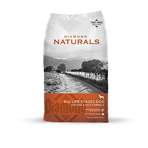 Diamond Naturals All Life Stages Real Meat Recipe Dry Dog Food With Premium...