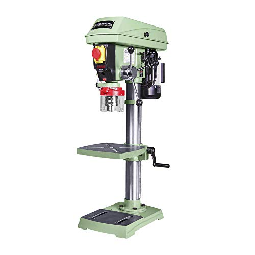 """General International 75-010 M1 Power Products Bench-Top Drill Press, 12"""", Green"""