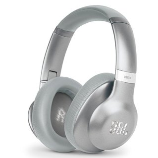 JBL Everest 750 Silver Over-Ear Wireless Bluetooth Headphones (Silver)