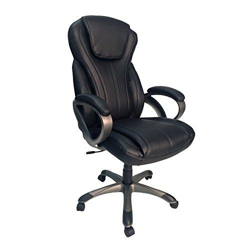 Z-Line Designs Oversized Executive Chair, Black