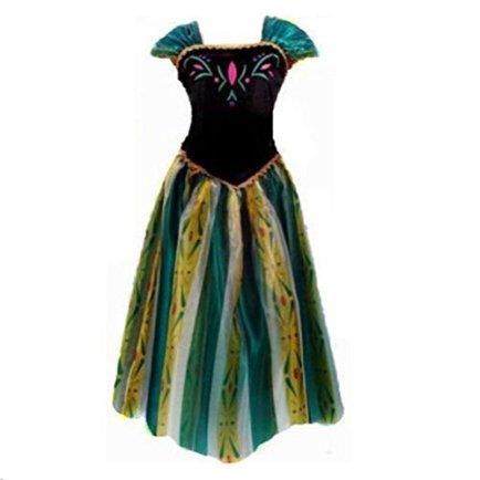 kuisen-Princess-Costume-Ault-Women-Anna-Elsa-Coronation-Dress-Costume-XL-Size-fit-for-US-12-14