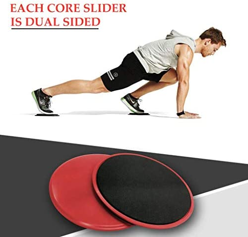 5 Exercise Resistance Loop Bands for Booty Building with 2 Dual Sided Core Sliders for Strength Training - Fitness Loops for Hips and Leg- Premium Exercise Equipment for Home Travel Gym 6