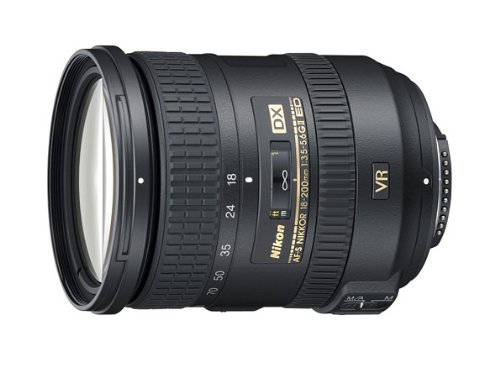 Nikon 18-200mm f/3.5-5.6G AF-S ED VR II Nikkor