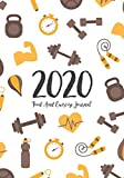 Food And Exercise Journal 2020: A Year - 365 Daily - 52 Week 2020 Planner Daily Weekly And Monthly Food Exercise & Fitness Diet Journal Diary For ... (Meal And Food Exercise & Fitness Diet Diary)