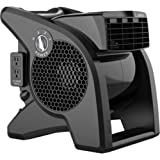 Lasko Pro Performance High Velocity Utility Fan, Black