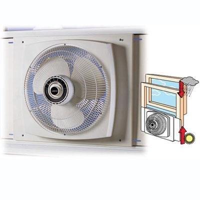Lasko High Velocity Window Fan 16 In. 3 Speed White