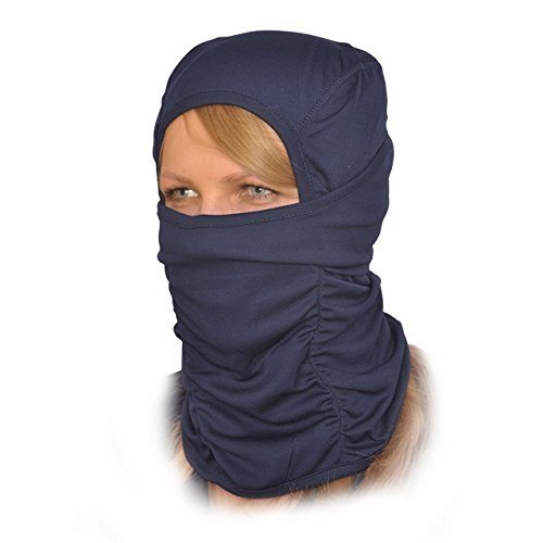 Balaclava Face Mask - One Size Fits All Elastic Fabric - Protects From Wind, Sun, Dust - Ideal for Motorcycle, Face Mask for Ski, Cycling, Running or Hiking - Summer or Winter Gear