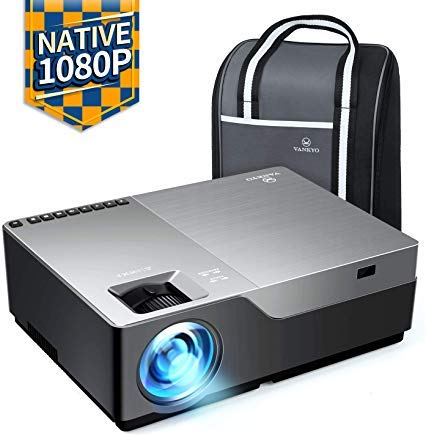 "VANKYO Performance V600 Native 1080P LED Projector, 5000 Lux HDMI Projector with 300""Display Compatible TV Stick, HDMI, VGA, USB, Xbox, Laptop, iPhone Android for PowerPoint Presentation"