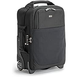 """Think Tank Airport International V3.0 Rolling Camera Bag for 2 Gripped DSLRs with Lenses Attached, 2-4 Additional Lenses, 15"""" Laptop, 10"""" Tablet"""