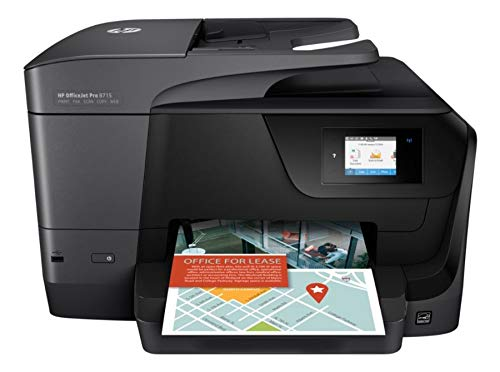 HP Officejet Pro 8715 All-in-One Multifunction Printer - Thermal Inkjet - Print/Copy/Scanner/Fax
