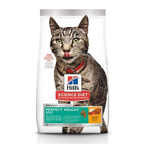 Hills-Science-Diet-Dry-Cat-Food-Adult-Perfect-Weight-for-Weight-Management-Chicken-Recipe
