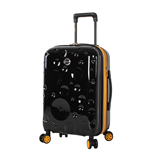 "Lucas Luggage Hard Case 20"" Expandable Suitcase With Spinner Wheels"