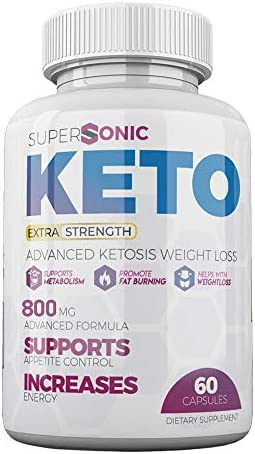 Supersonic Keto Diet Pills - Supersonic Keto Extra Strength Weight Loss Capsules - Advanced Ketosis Weight Loss (60 Capsules, 1 Month Supply) 3