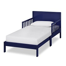 Dream On Me Brookside Toddler Bed in Royal Blue, Greenguard Gold Certified