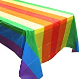 Rainbow Party Tablecovers (2), Rainbow Birthdays, Rainbow Party Supplies and Decorations