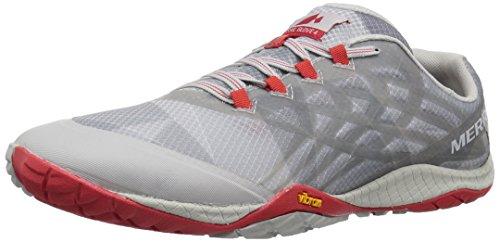 Merrell Men's Trail Glove 4 Sneaker, Vapor, 14 M US