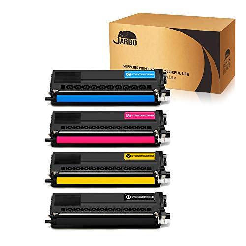 JARBO 1 Set Compatible for Brother TN336 TN-336 TN331 TN-331 Toner Cartridges High Yield, Use with Brother HL-L8350CDW HL-L8250CDN HL-L8350CDWT MFC-L8600CDW MFC-L8850CDW Printer
