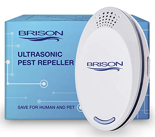 BRISON Ultrasonic Pest Repeller - Repelling Rodents, Mosquitoes, Rats, Mice 1 РАСК