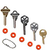 MSPowerstrange Professional 5 Key Depth Key Set (KW1, KW11, SC1, SC4, M1,) with Bump Rings