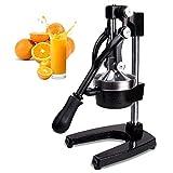 Switol Manual Citrus Juicer Press, Commercial Orange and Lemon Juice Squeezer Extractor (Black)