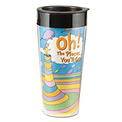Dr. Seuss Plastic Travel Mug
