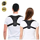 Posture Corrector for Men, Adjustable Effective Posture Corrector for Women, Soft Comfortable Elastic Back Brace Posture Corrector, Well Ventilated Upright Go Posture Trainer Without Hurting The Skin