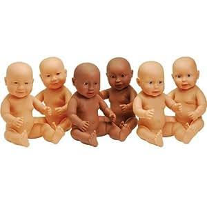 Amazon.com: Anatomically Correct Dolls Set of 6: Toys & Games