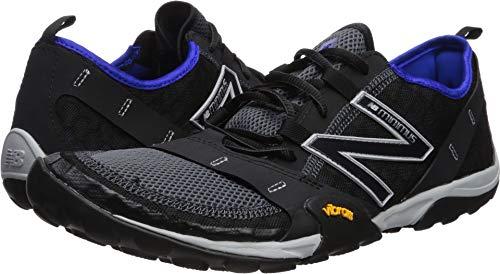 New Balance Men's 10v1 Minimus Running Shoe, Black/uv Blue, 11.5 2E US