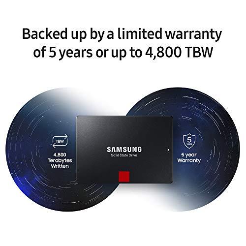 "Samsung 860 PRO 256GB SATA 2.5"" Internal Solid State Drive (SSD) (MZ-76P256) 7"