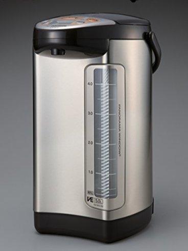 Zojirushi-586362-CV-DCC50XT-America-Corporation-Ve-Hybrid-Water-Boiler-And-Warmer-5-Liter-Stainless-Dark-Brown