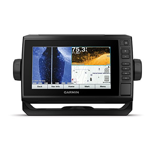Garmin 010-01898-01 ECHOMAP Plus 74sv With CV51M-TM Transducer, 7' Display