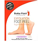 Baby Foot - Original Exfoliant Foot Peel - 2.4 Fl. Oz. Lavender Scented Pair