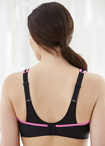 Glamorise Women's Full Figure No Bounce Plus Size Camisole Wirefree Back Close Sports Bra #1066 15 Fashion Online Shop gifts for her gifts for him womens full figure