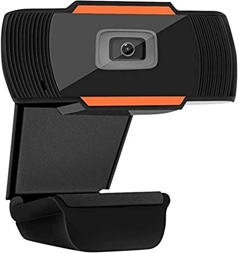 SamMus 720p HD Webcam with Microphone and Autofocus for PC Desktop & Laptop Computer Camera for Video Calling, Recording, Conferencing, Online