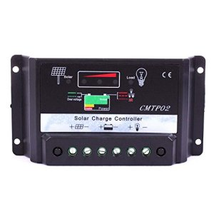 Sun YOBA Solar Controller Solar Regulator30A 20A 15A 10A 5 A CMTP02 Solar Panel Battery Regulator Charge Controller 12V/24V Auto Switch