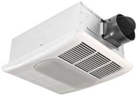 Delta Electronics RAD80L BreezRadiance 80 CFM Heater/Fan/Light Combo White