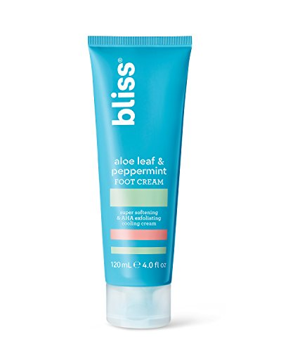 Bliss - Aloe Leaf & Peppermint Foot Cream