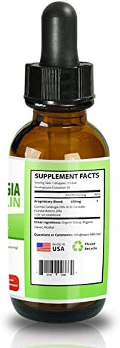 Garcinia CAMBOGIA Liquid Drops Plus FORSKOLIN - New - Powerful 70% HCA Natural Appetite Suppression Control Liquid Diet - Best Weight Loss Supplements That Work - 2oz Bottle Full 30 Day Supply 7