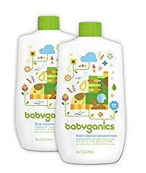 Babyganics Floor Cleaner Concentrate – Best for Kids