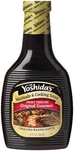 Mr. Yoshida's Marinade & Cooking Sweet Teriyaki Sauce (17oz Bottle)
