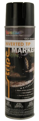 Seymour 20-663 Stripe Inverted Tip Marker, Black