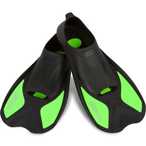 Easy Snorkel Short Blade Snorkeling Swim Fins