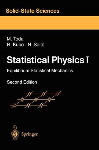 Statistical Physics I: Equilibrium Statistical Mechanics