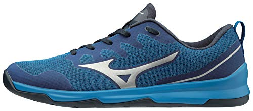 Mizuno Men's TC-02 Cross Training Shoe, Cross Training Sneakers for all forms of Exercise, Blue, 9.5 D US