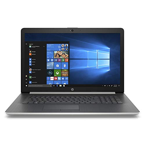 HP 17.3' HD+ SVA WLED-Backlit Notebook Laptop, Intel Core i5-8250U up to 3.4GHz, 24GB Memory: 16GB Intel Optane + 8GB DDR4, 2TB HDD, DVD, Webcam, Backlit Keyboard, Bluetooth, Windows 10 Home, Silver